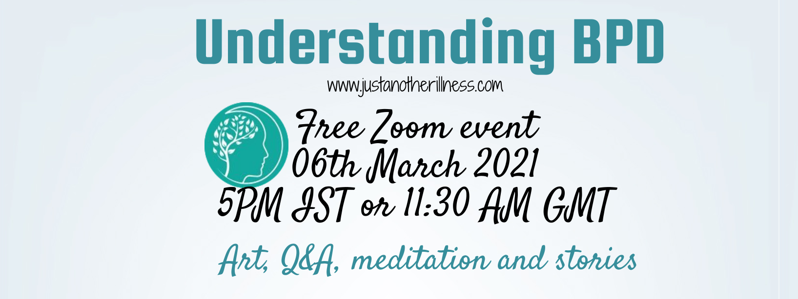 Upcoming Free Event! Understanding Borderline Personality Disorder